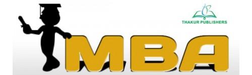 MBA - Thakur Publication Pvt Ltd