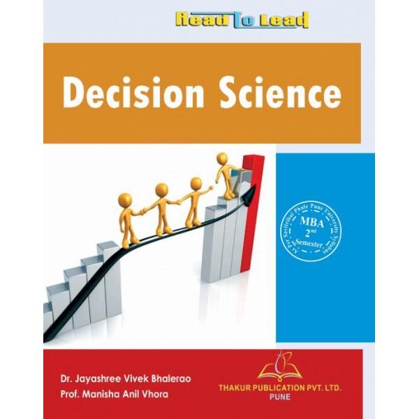 Decision Science - Thakur Publishers