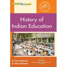 History of Indian Education